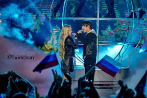 Денберел Ооржак и Татьяна Меженцева